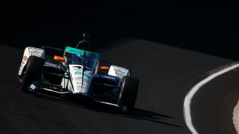 Fernando Alonso en el Carb Day de la Indy 500