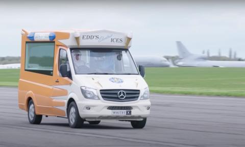 La furgoneta de helados más rápida del mundo