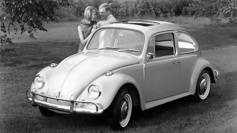Historia del VW Beetle