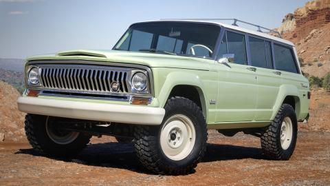 El Jeep Grand Wagoneer resucitará después de 29 años