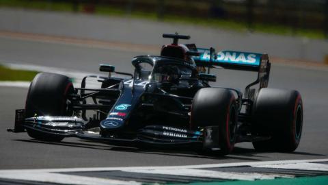 Lewis Hamilton pole Silverstone