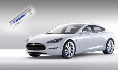 Panasonic invierte 100 millones de dólares en baterías para Tesla