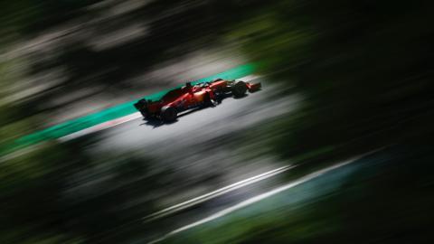 Sebastian Vettel Barcelona