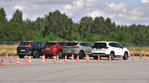 Comparativa SUV gasolina, Honda CR-V vs Hyundai Tucson vs Mazda CX-5 vs Subaru Forester