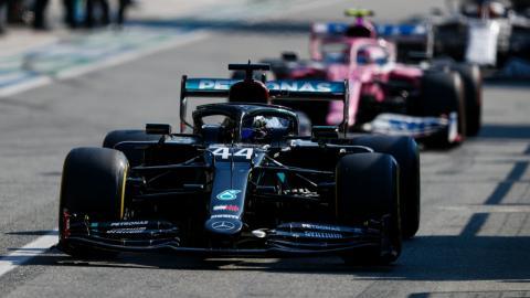 Hamilton en Monza