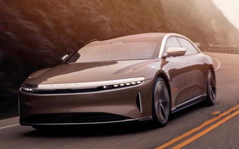 Lucid Air, el coche eléctrico que supera los 1.000 caballos