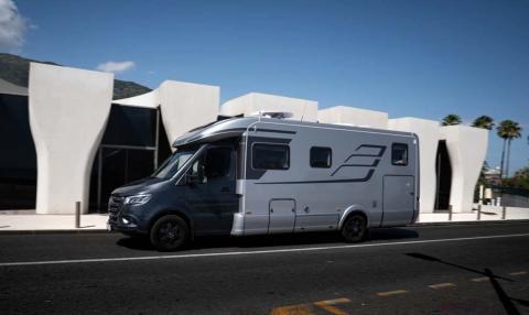 Mercedes Sprinter Camper by Hymer