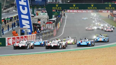 Salida Le Mans 2019