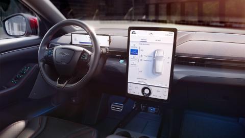 Así es la tecnología Sync 2020 del Mustang Mach-E