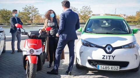 1.250 euros alquiler de vehículos eléctricos si achatarras tu coche