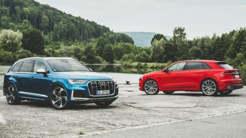 Audi SQ7 y Audi SQ8 2021