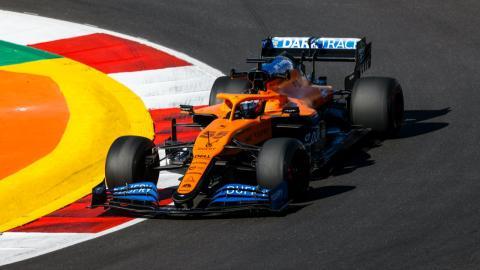 Carlos Sainz en el GP de Portugal