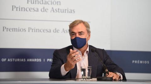 Carlos Sainz rueda prensa Asturias