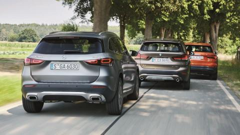 Comparativa Audi Q3 35 TDI quattro vs BMW X1 xDrive18d vs Mercedes GLA 200 d 4Matic