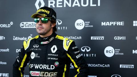 Fernando Alonso Renault F1