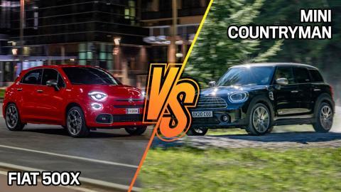Fiat 500x 2020 o Mini Countryman. ¿Cuál hay que comprar?