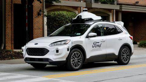 Ford cuarta generación de coches autónomos