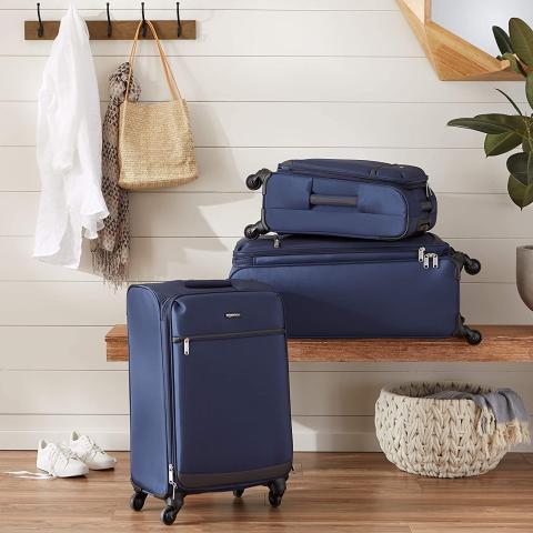 Juego de maletas blandas Amazon Basics