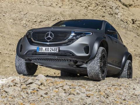 Mercedes EQC 4x42 Concept