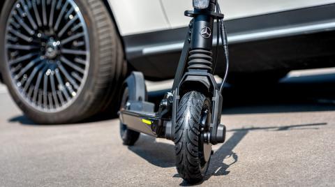 Mercedes e-Scooter, el patinete eléctrico que hace hasta 5.000 km