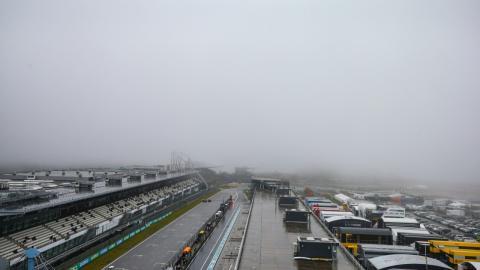 Niebla en el Circuito de Nürburgring