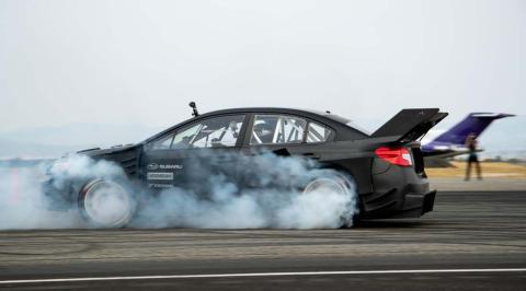 Subaru WRX STI, de Travis Pastrana