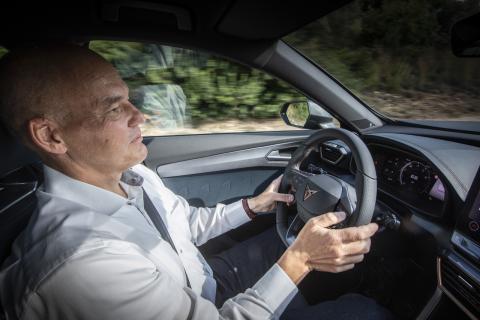 Al volante del Cupra Formentor por primera vez. Sensaciones del vicepresidente de Investigación y Desarrollo, Wener Tietz