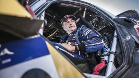 Carlos Sainz Rally Andalucia