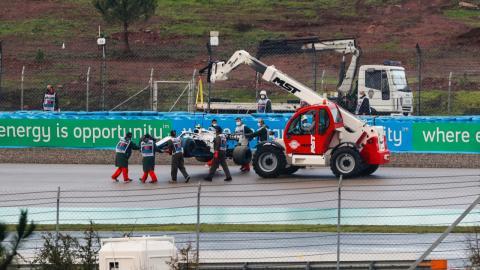 Grua F1 clasificacion Turquia