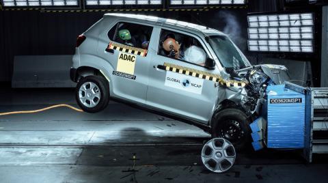 Un nuevo cero estrellas en Global NCAP: Maruti Suzuki S-Presso