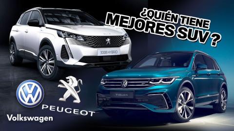 Volkswagen o Peugeot mejores SUV