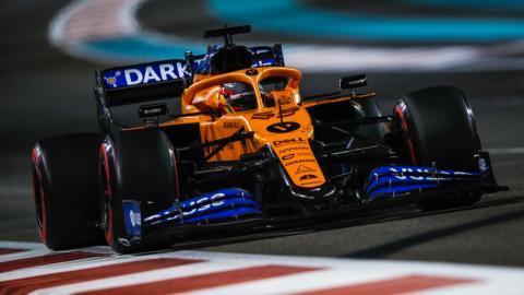 Carlos Sainz en Abu Dhabi
