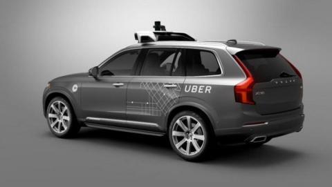 Coche autonomo Uber