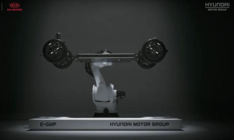 E-GMP la plataforma eléctrica de Hyundai