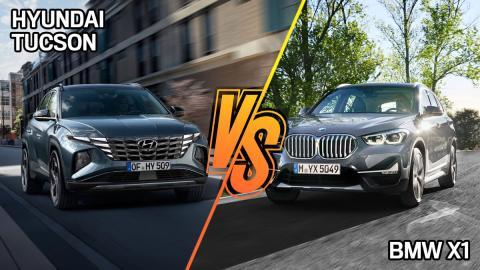 Hyundai Tucson 2021, ¿dónde es mejor y peor que un BMW X1?