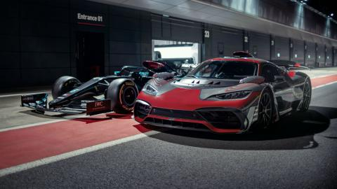 Lewis Hamilton Mercedes-AMG Project One