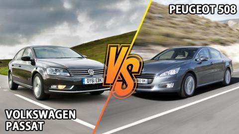 Peugeot 508 vs Volkswagen Passat