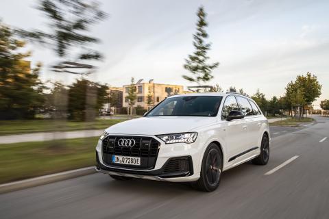 Prueba Audi Q7 híbrido enchufable