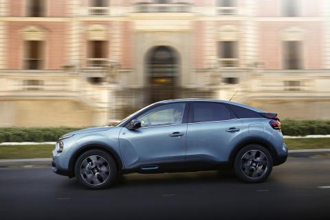 Prueba del Citroën ë-C4 2021