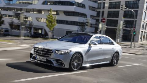 Prueba Mercedes Clase S 2021