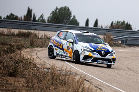 Prueba del Renault Clio V RSR de rallys Clio Rally5