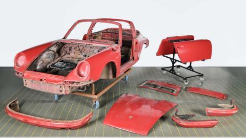 Restauración Porsche 911 S Targa de 1967