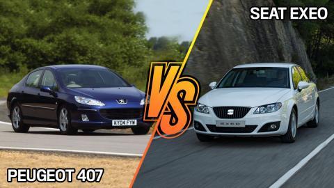 Seat Exeo o Peugeot 407: ¿cuál era mejor?