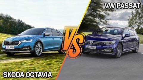 VW Passat o Skoda Octavia, ¿cuál es mejor familiar?