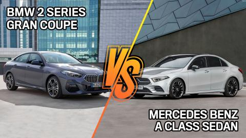 BMW Serie 2 o Mercedes Clase A 2021, ¿cuál comprar?