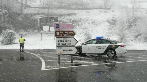 Borrasca Filomena: estas son todas las carreteras intransitables a causa de la nieve y el hielo