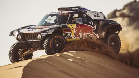 Carlos Sainz en el Dakar 2021