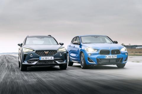 Comparativa del Cupra Formentor y el BMW X2