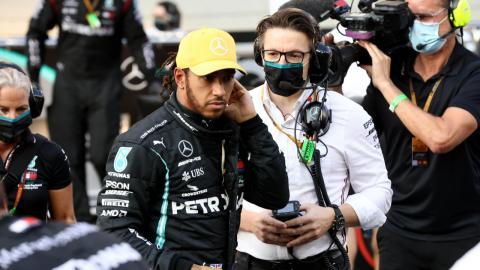 Hamilton y Mercedes