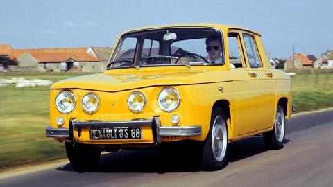 Historia Renault 8 TS